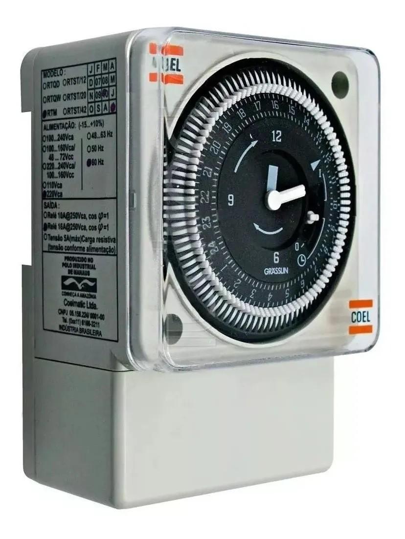 Programador e interruptor RTM  Coel 220V 020104P020