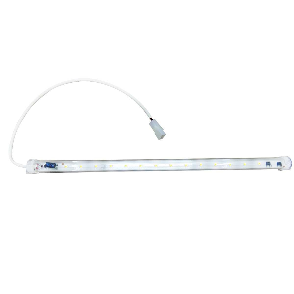 Régua Tubolar de LED universal Para Cervejeira Metalfrio Gelopar 127V 42CM 8W 14LEDS 20600385