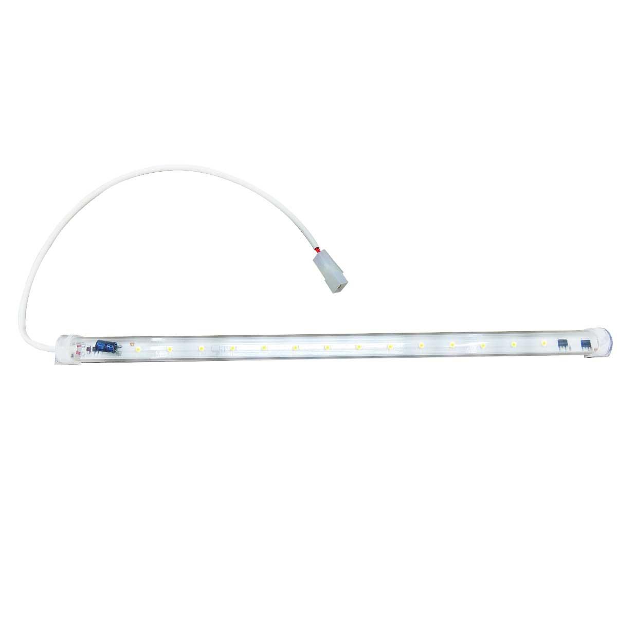 Régua Tubolar de LED universal Para Cervejeira Metalfrio Gelopar 220V 42CM 8W 14LEDS 20600390