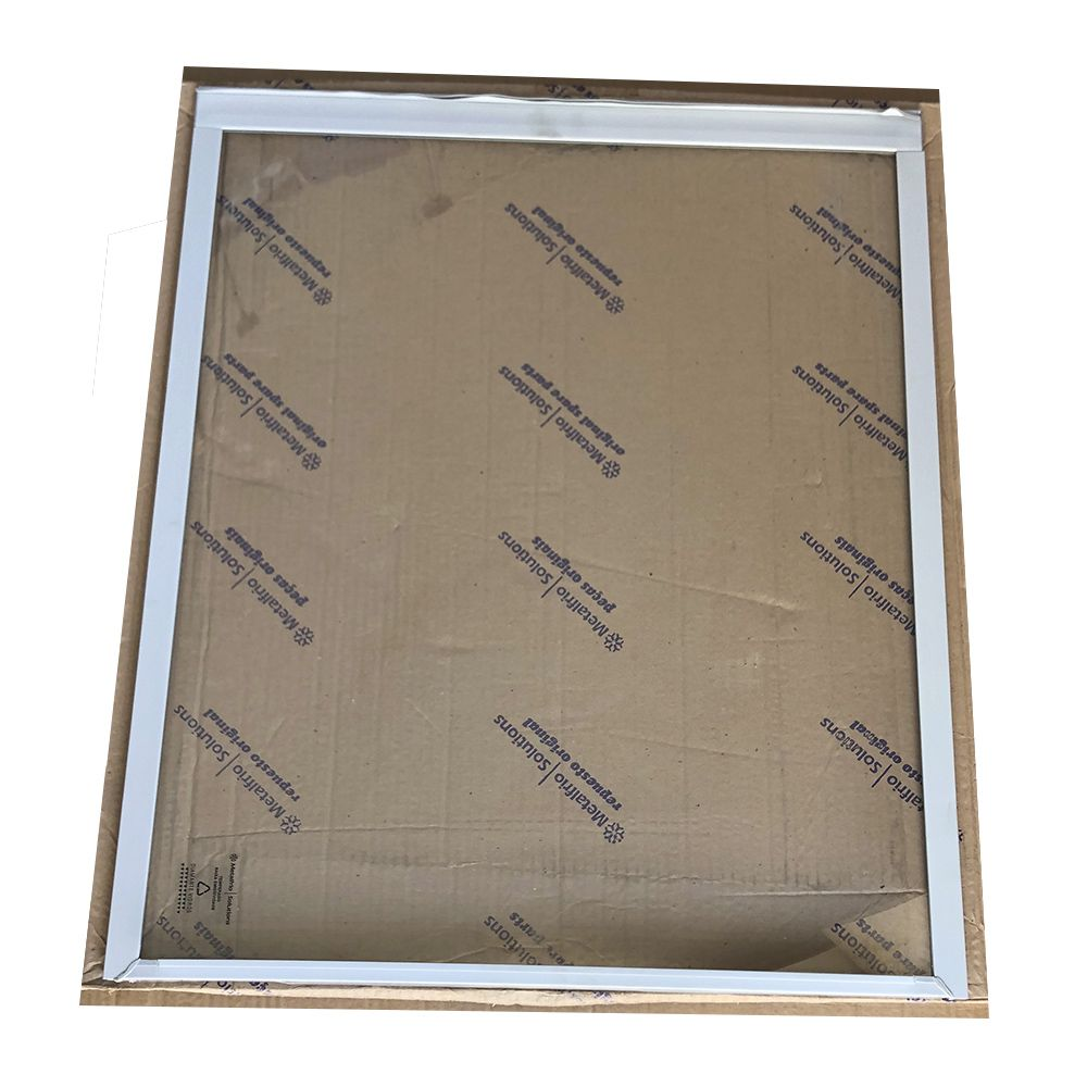 Tampa de vidro  freezer metalfrio HT40 inferior diamante 56 x 65,5  020128T206