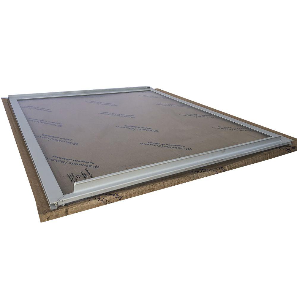Tampa de vidro freezer Metalfrio HT50 Superior  64 x 75 020128T203