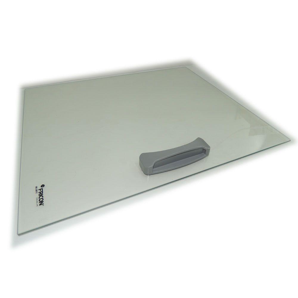 Tampa de vidro Fricon com puxador HCE 311 57,4 x 48,3 cm Original 09.5147