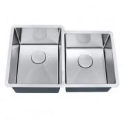 Cuba de cozinha aço inox 1mm escovado S201 77,5x50,8x22,9cm