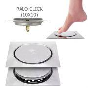 Ralo Inteligente Click 10x10cm Quadrado