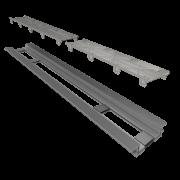 Ralo Linear Infinity Pvc Tampa Oculta 130cm Elleve