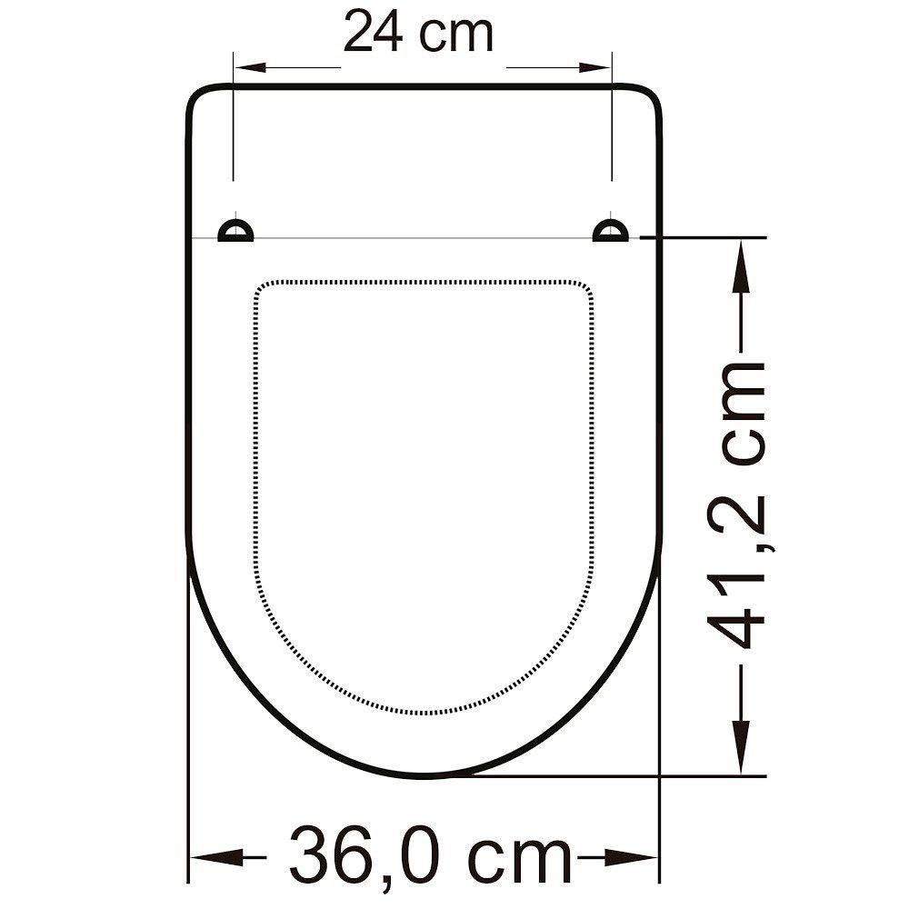 Assento Calypso Polipropileno  - DOTEC SHOP