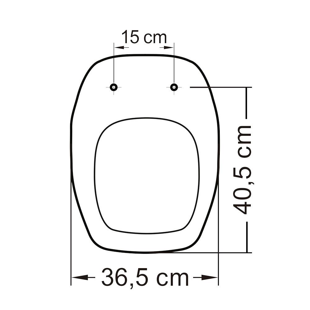 Assento Versa Max Polipropileno  - DOTEC SHOP