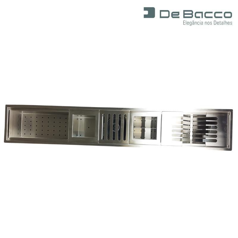 Canal Úmido 105cm Com 5 Acessórios  - DOTEC SHOP