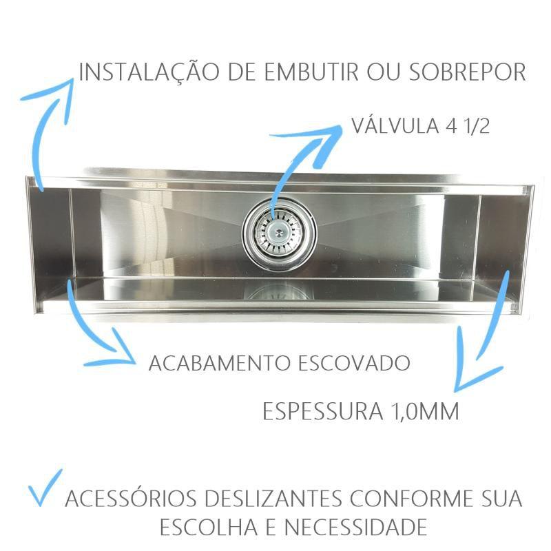 Canal Úmido 60cm Com 3 Acessórios  - DOTEC SHOP