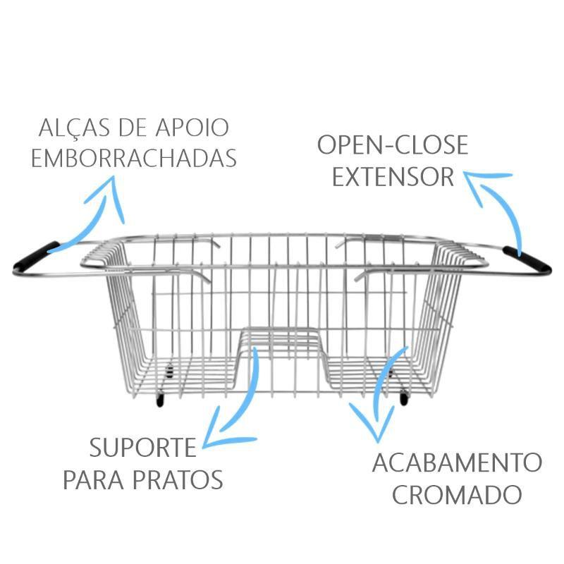 Cesto Aramado Escorredor  - DOTEC SHOP