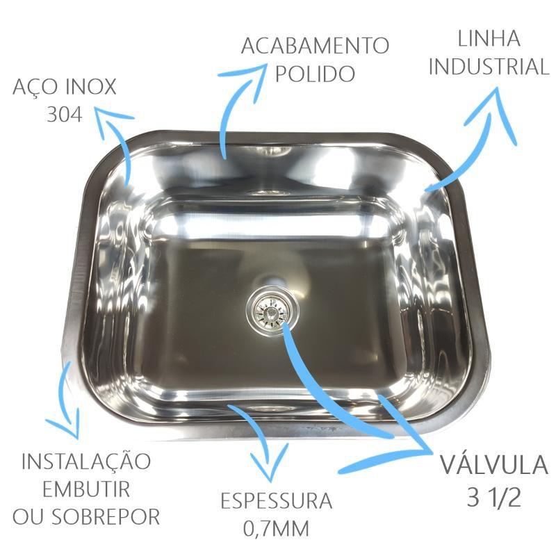 Cuba Industrial 50x40x20cm  - DOTEC SHOP