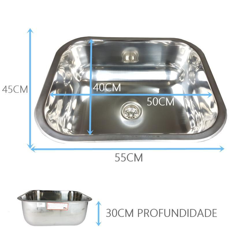 Cuba Industrial 50x40x30cm  - DOTEC SHOP