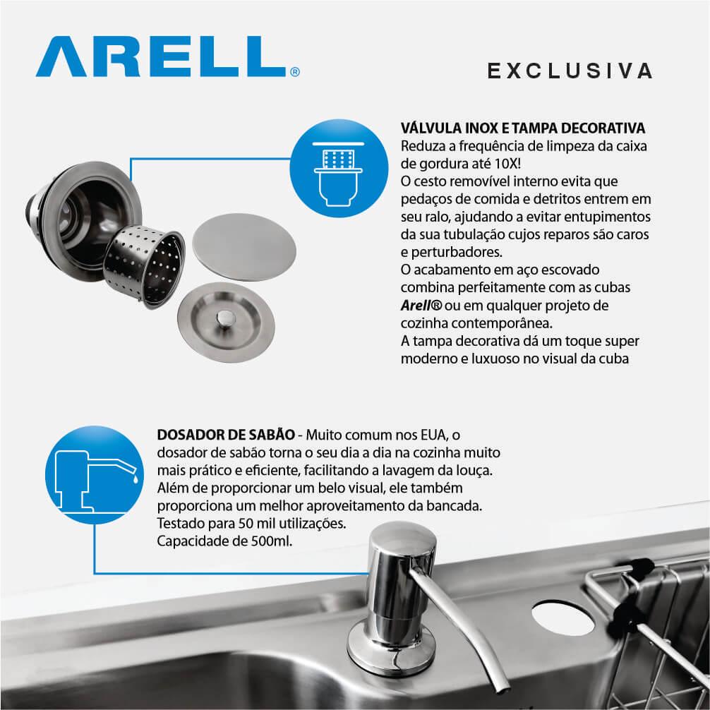 Cuba Inox Kameel STD01 Arell  - DOTEC SHOP