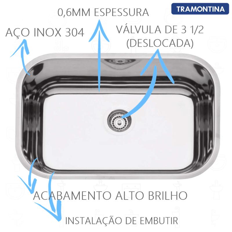 Cuba Inox N2 Prime 56x34x17cm  - DOTEC SHOP