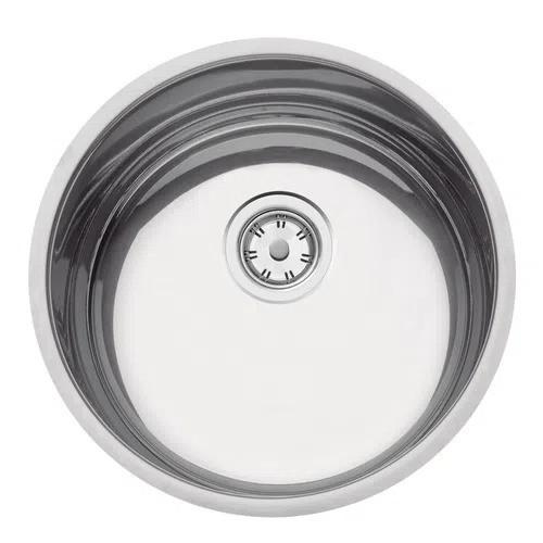 Cuba Tramontina Luna 35 BL em Aço Inox Polido 35 cm  - DOTEC SHOP