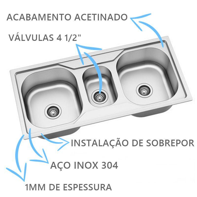 Cuba Tripla Expressione 232 DeBacco Com Acessórios  - DOTEC SHOP