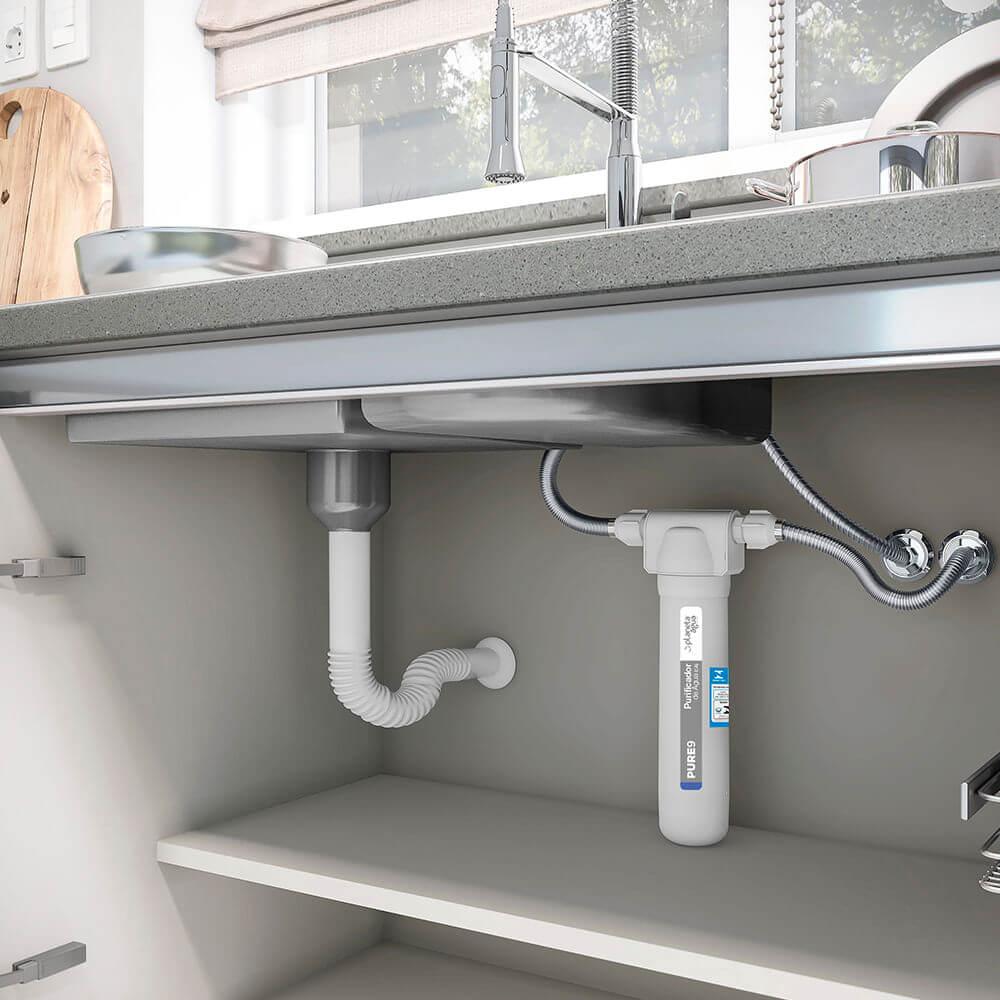 Filtro Purificador De Água Pure9 Simples