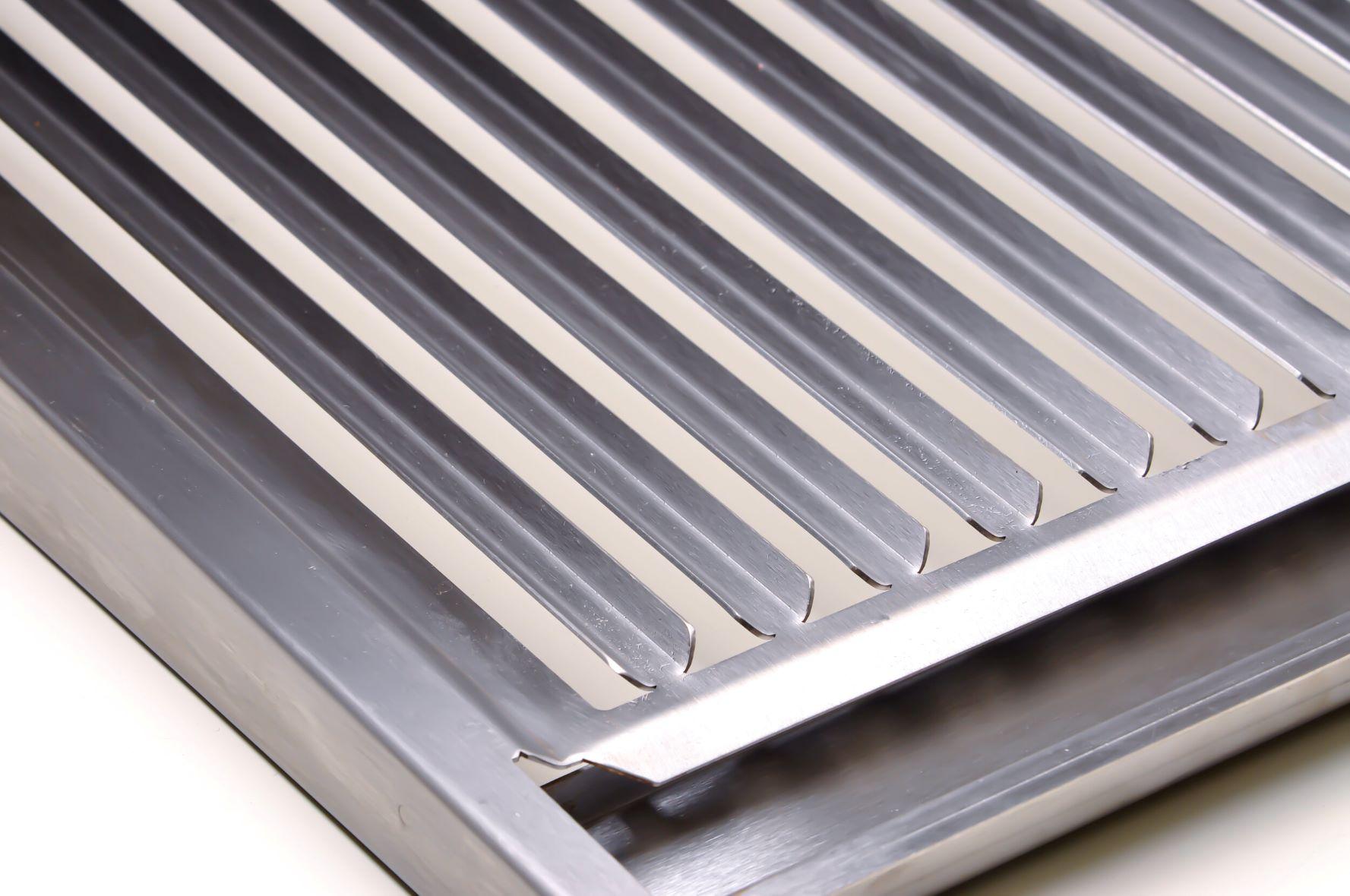 Grelha Argentina Parrilha em Inox Escovado Corte a Laser com Cabo de Alumínio  - DOTEC SHOP