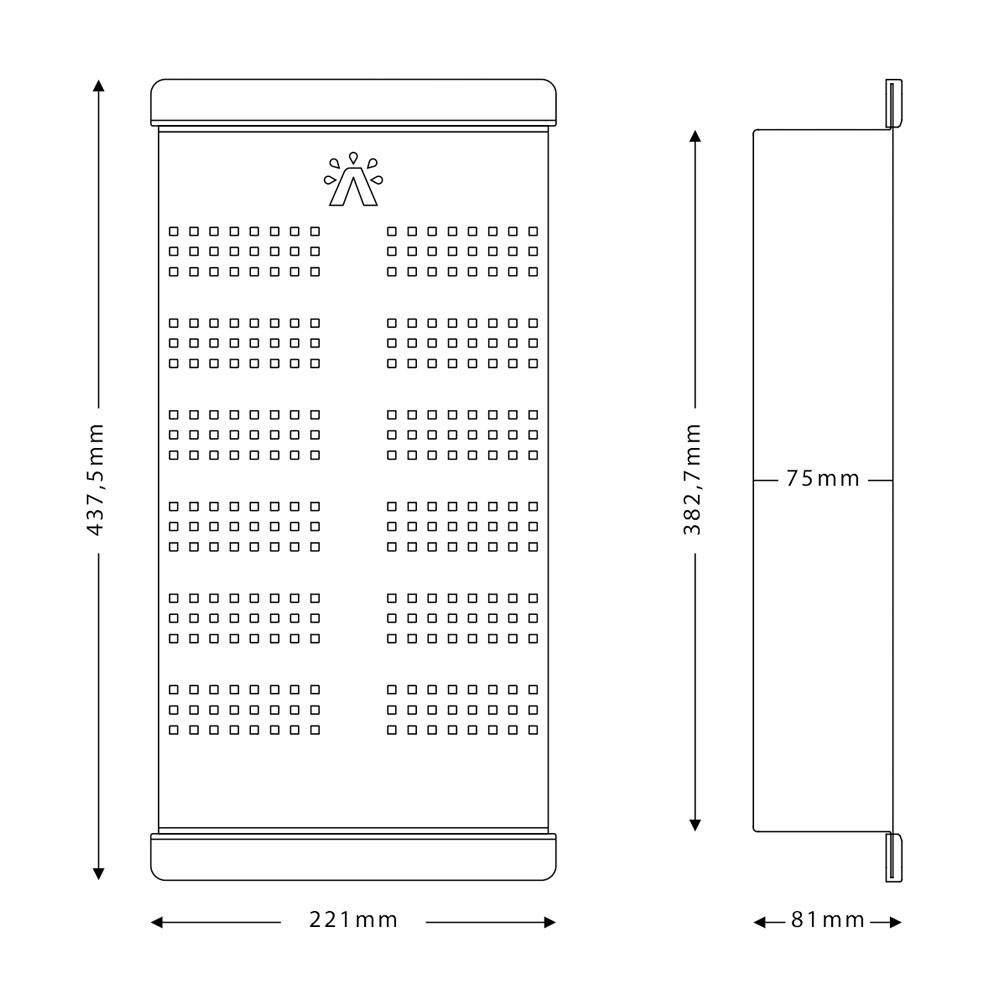 Kit Escorredor Inox Escovado com 3 Acessórios - Calha Úmida Removível  - DOTEC SHOP