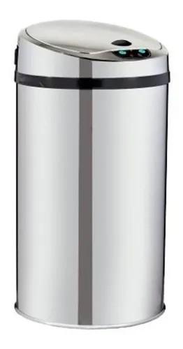 Lixeira Automática 12l Inox Com Sensor Para Cozinha  - DOTEC SHOP