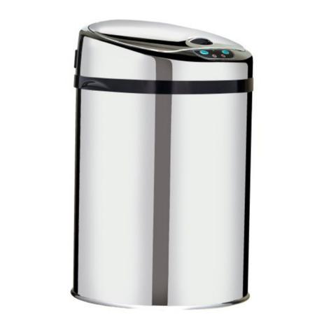 Lixeira Automática 9 Inox Com Sensor Para Cozinha  - DOTEC SHOP