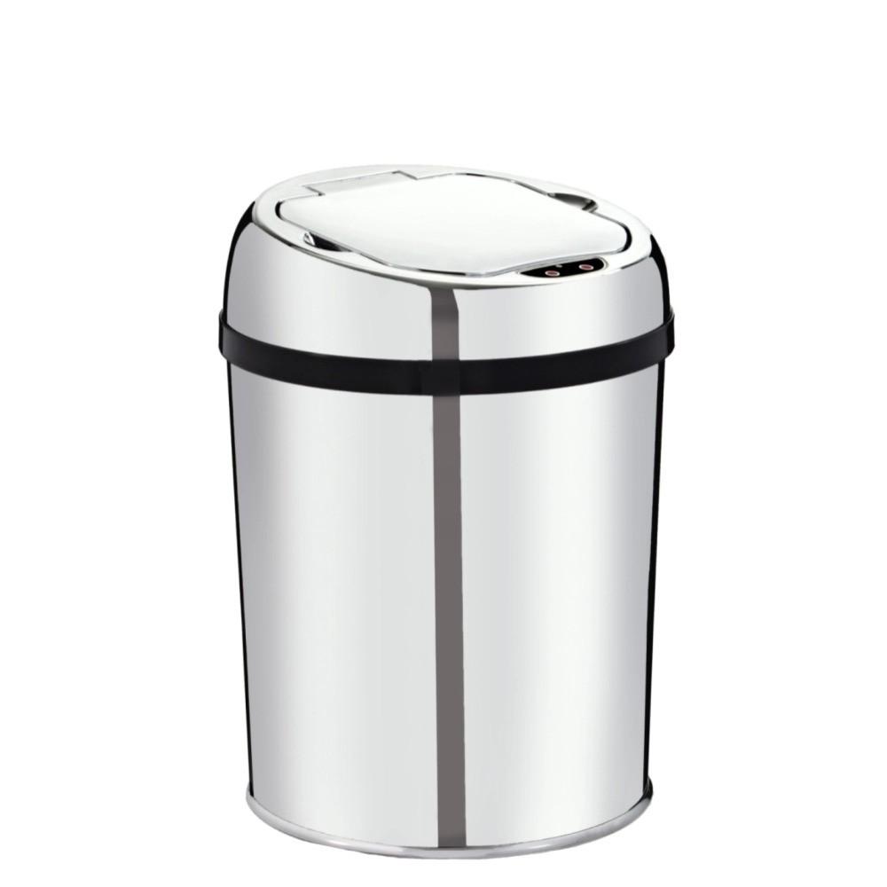Lixeira Automática 3 Inox Com Sensor Para Cozinha  - DOTEC SHOP