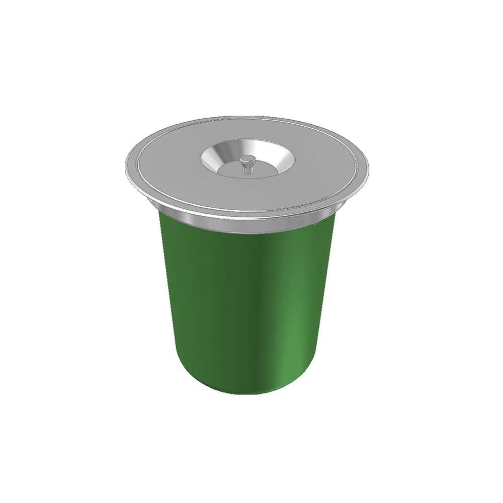 Lixeira de Embutir Redonda Franke 12 litros  - DOTEC SHOP