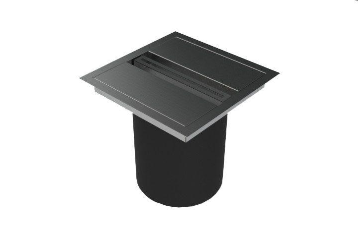Lixeira de Embutir Xteel 3 litros  - DOTEC SHOP