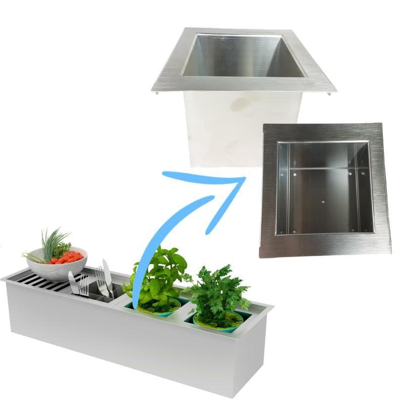 Mini Horta / Porta Potes de 15cm  - DOTEC SHOP