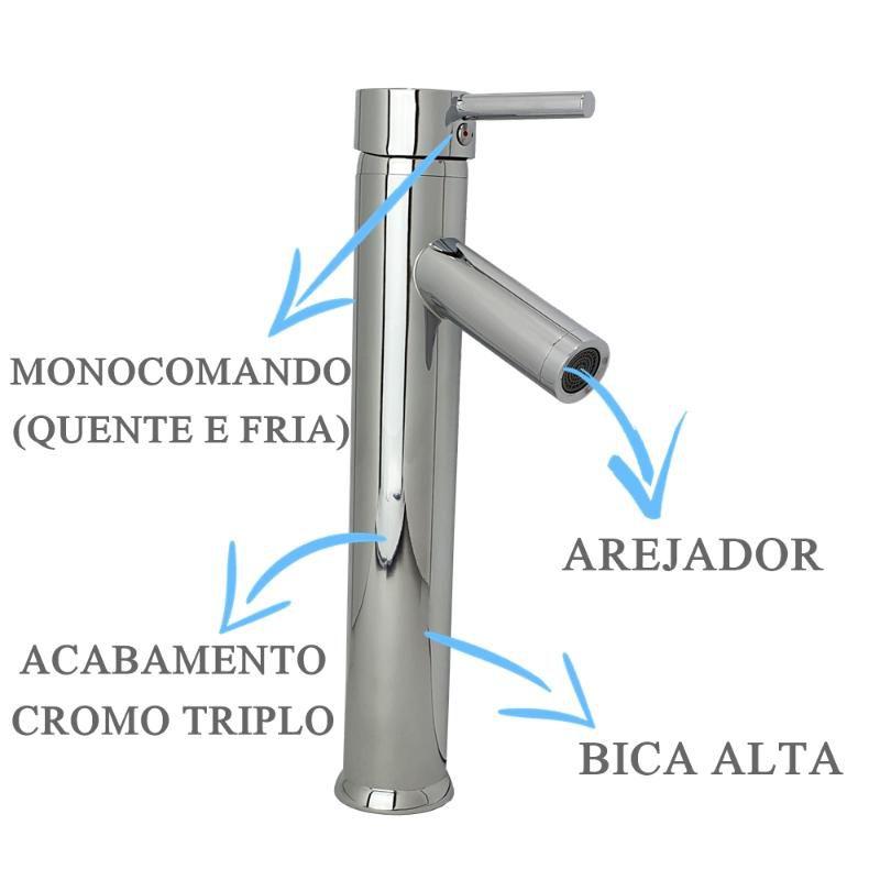 Misturador Bica Alta Axis  - DOTEC SHOP