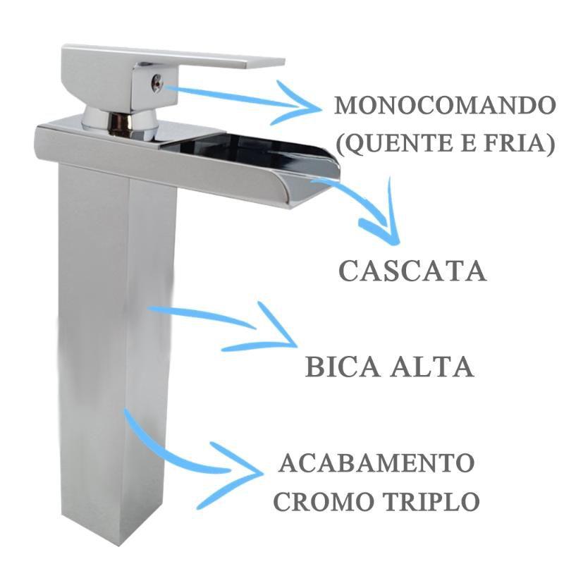 Misturador Bica Alta Calha  - DOTEC SHOP