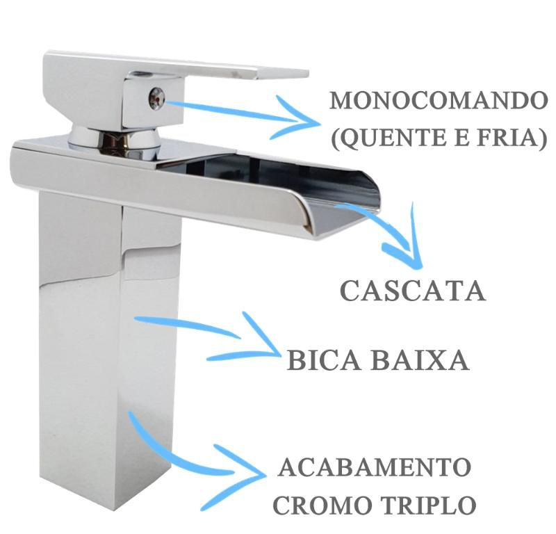 Misturador Bica Baixa Calha  - DOTEC SHOP