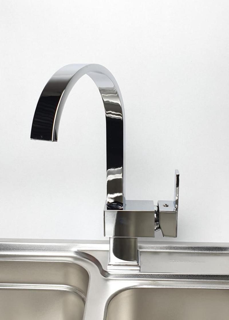Misturador Monocomando Cromado Slim  - DOTEC SHOP