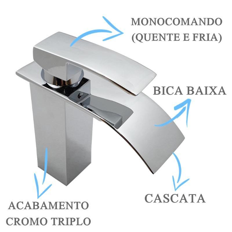 Misturador Slim Bica Baixa  - DOTEC SHOP