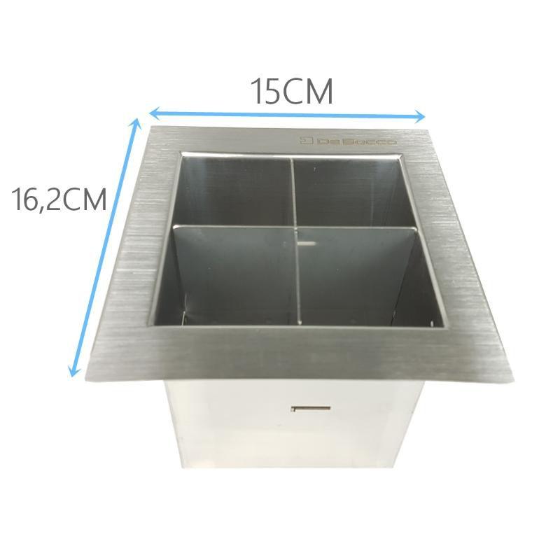 Porta Talher de 15cm  - DOTEC SHOP