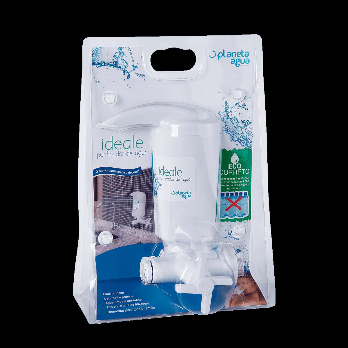 Purificador De Água Ideale Basic Branco Direto Parede  - DOTEC SHOP