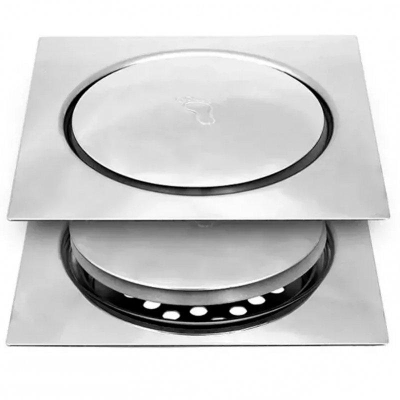 Ralo Inteligente Click 15x15cm Quadrado  - DOTEC SHOP