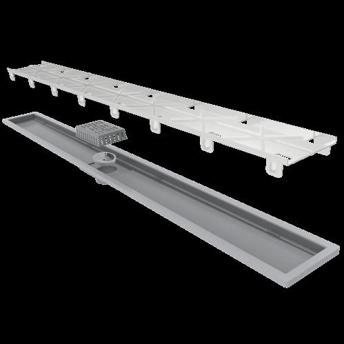 Ralo Linear Royal Tampa Oculta 90cm Elleve  - DOTEC SHOP