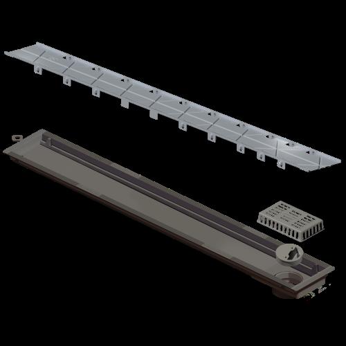 Ralo Linear Versatille Tampa Oculta 75cm Elleve  - DOTEC SHOP
