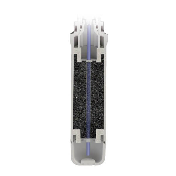 Refil Filtro Purificador De Água Planeta Água Pure9 Cabelos