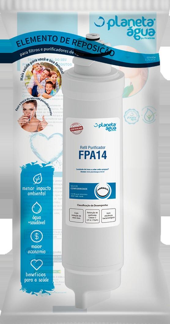 Refil FPA14 Especial Para Aparelhos Electrolux Planeta Água