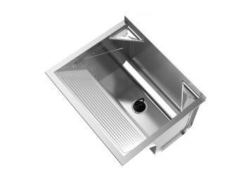 Tanque De Fixar Na Parede Inox 608x505x434 SUPER TS500 - GhelPlus  - DOTEC SHOP