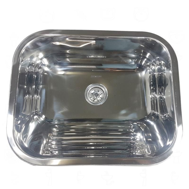 Tanque Inox 50x40x22cm - 27 Litros  - DOTEC SHOP