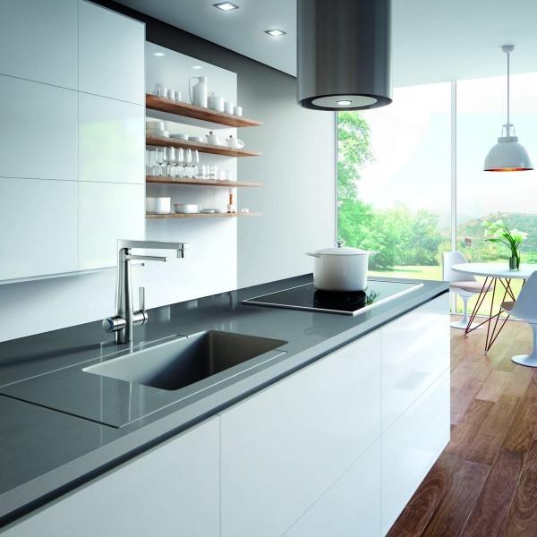 Torneira Para Cozinha De Mesa Com Purificador De Água Docol Vitalis