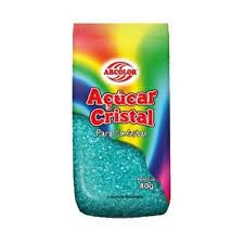 Açúcar Cristal -500G. Azul