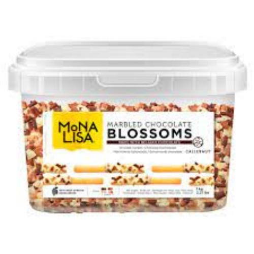 Blossoms Chocolate Amargo e Branco Callebaut 1kg