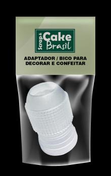 CB01-G(1) / Bicos: Adaptador Grande CAKE BRASIL (1 unidade)