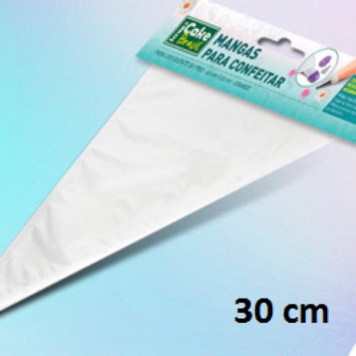 CB03-30.50 / Manga transparente 30x19 cm - 50 un - plastico