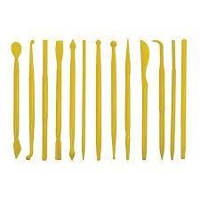 CB07-17 / Conjunto estecas amarelas 14 un
