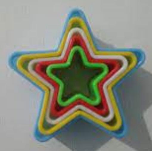 CB07-23 / cortador plastico estrelas